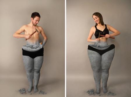 Übergewicht - Mit Vorurteilen abbauen